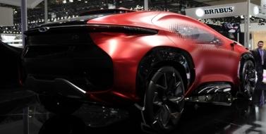 Испытайте будущее с Chery - внедорожник Concept Coupe Concept Tiggo