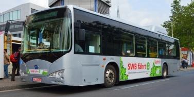 Электроавтобусы BYD